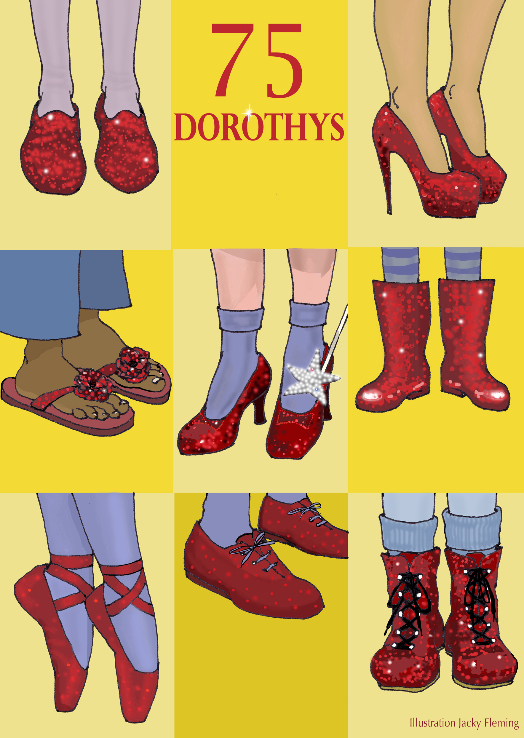 75 Dorothys - illustration Jacky Fleming